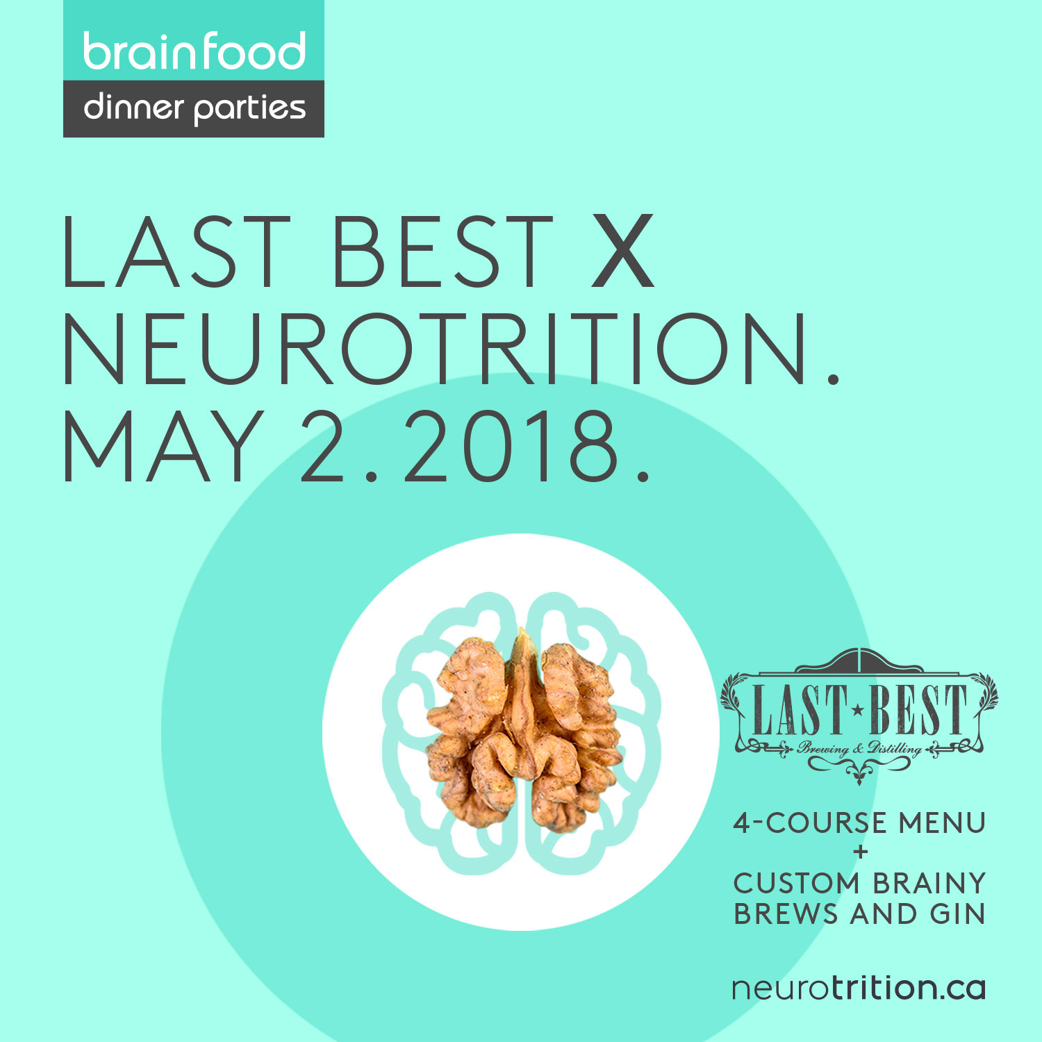 Brain Food Dinner Party :: Last Brew Edition