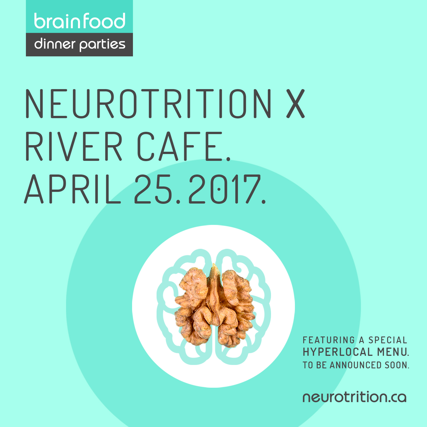 Brain Food Dinner Party :: River Cafe Edition