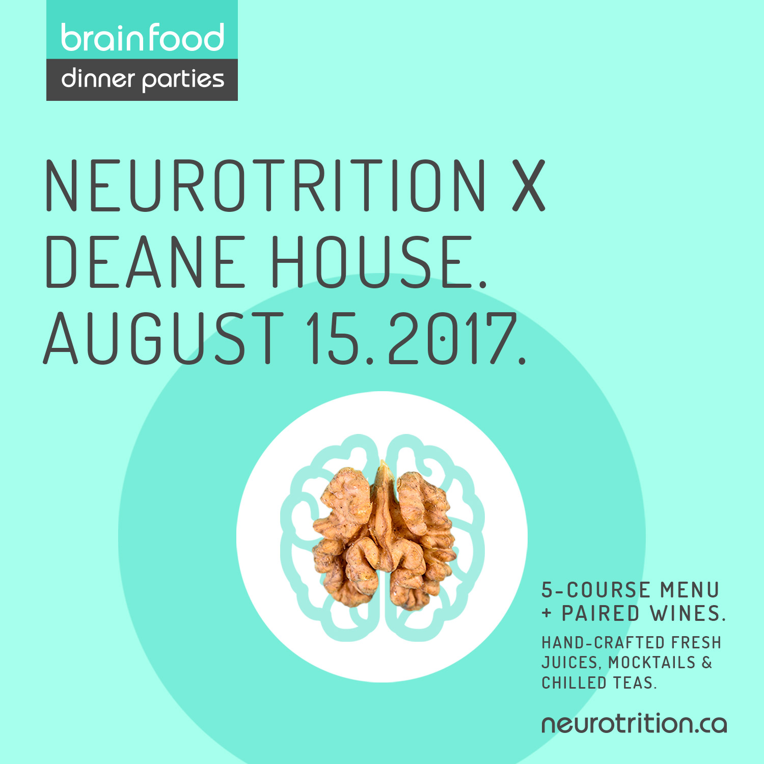 Brain Food Dinner Party :: Deane House
