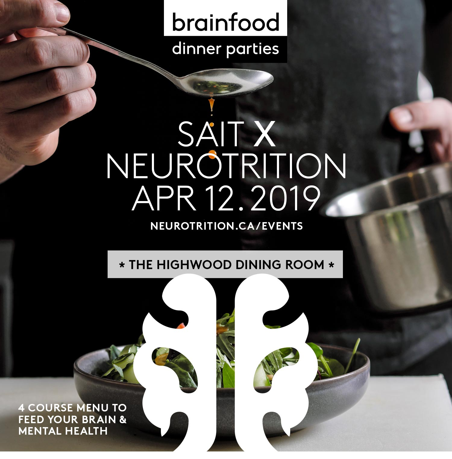 Brain Food Dinner Party :: SAIT Edition