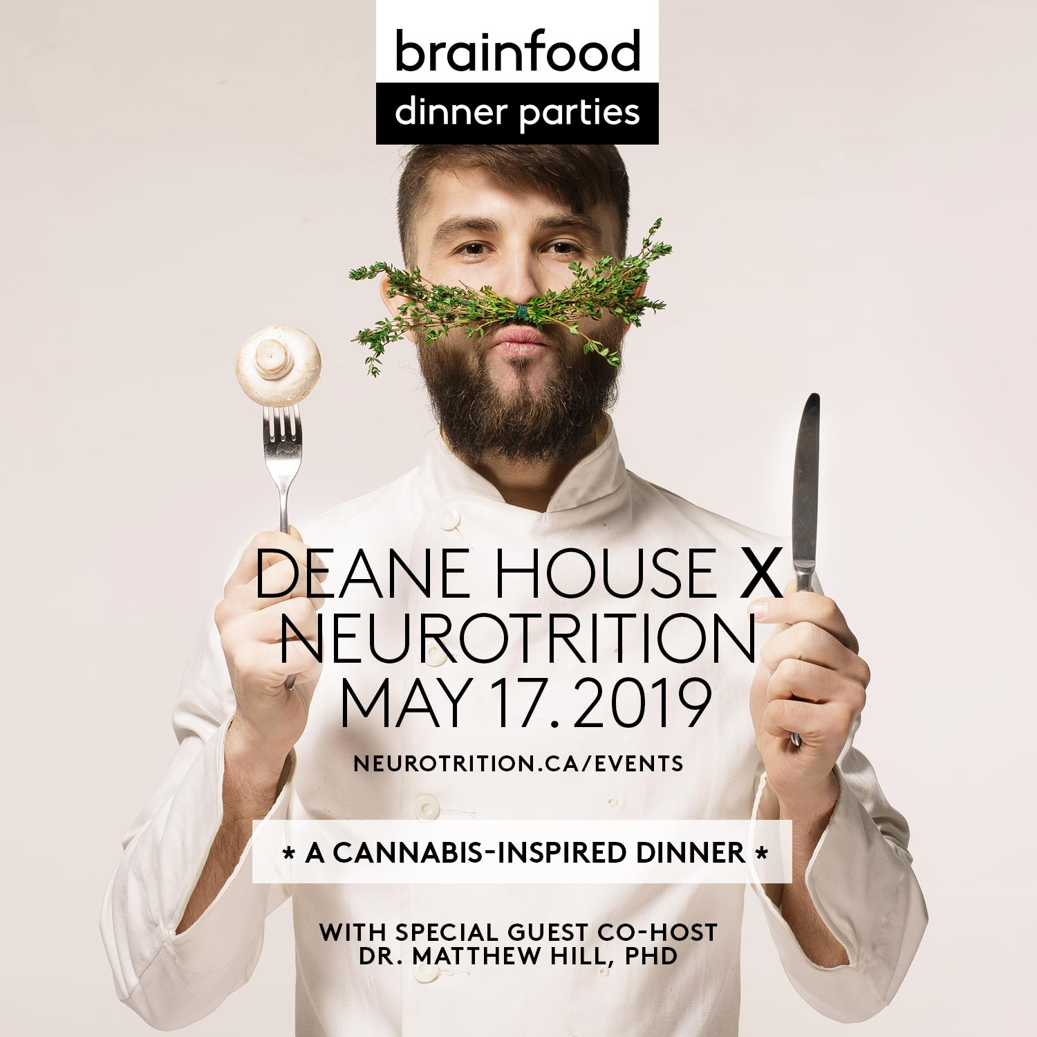 Brain Food Dinner Party :: Cannabis-Inspired Edition