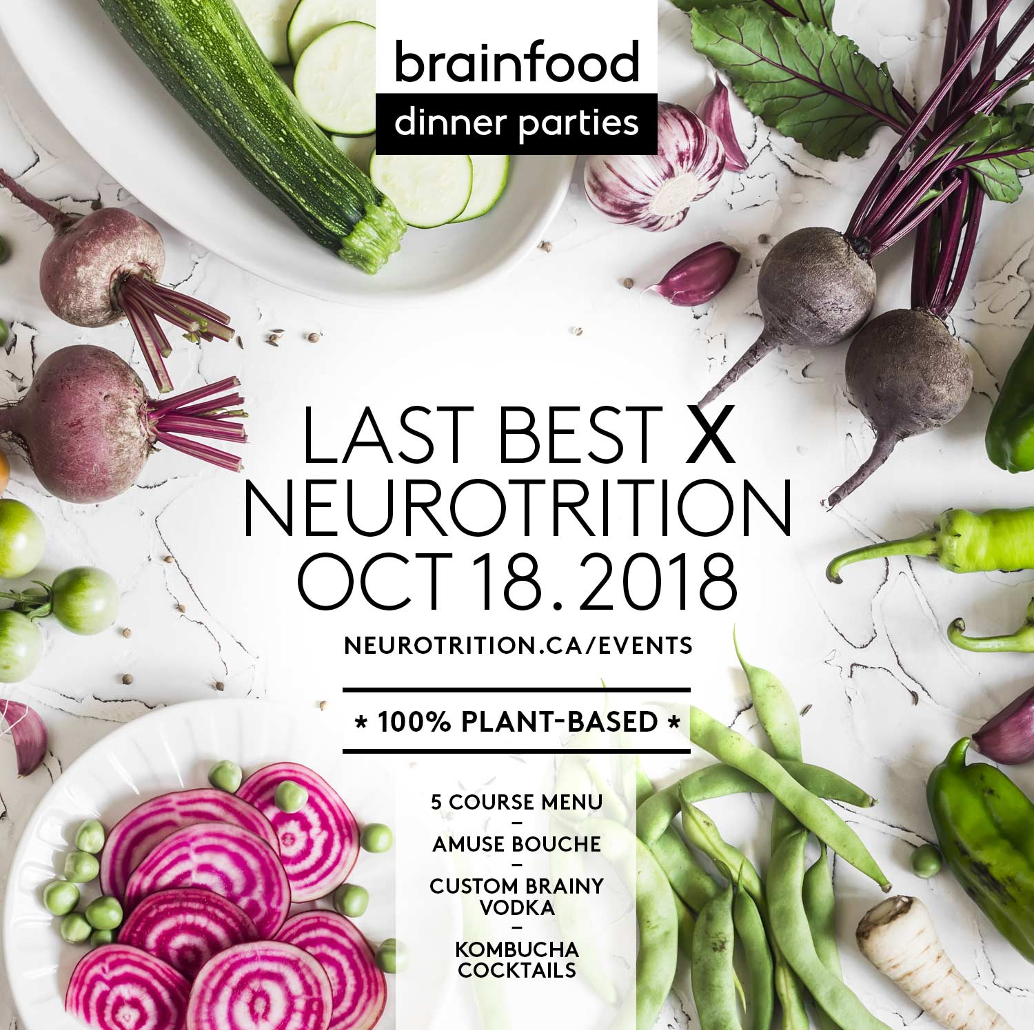 Brain Food Dinner Party :: Last Best {The Plant-Based Edition}
