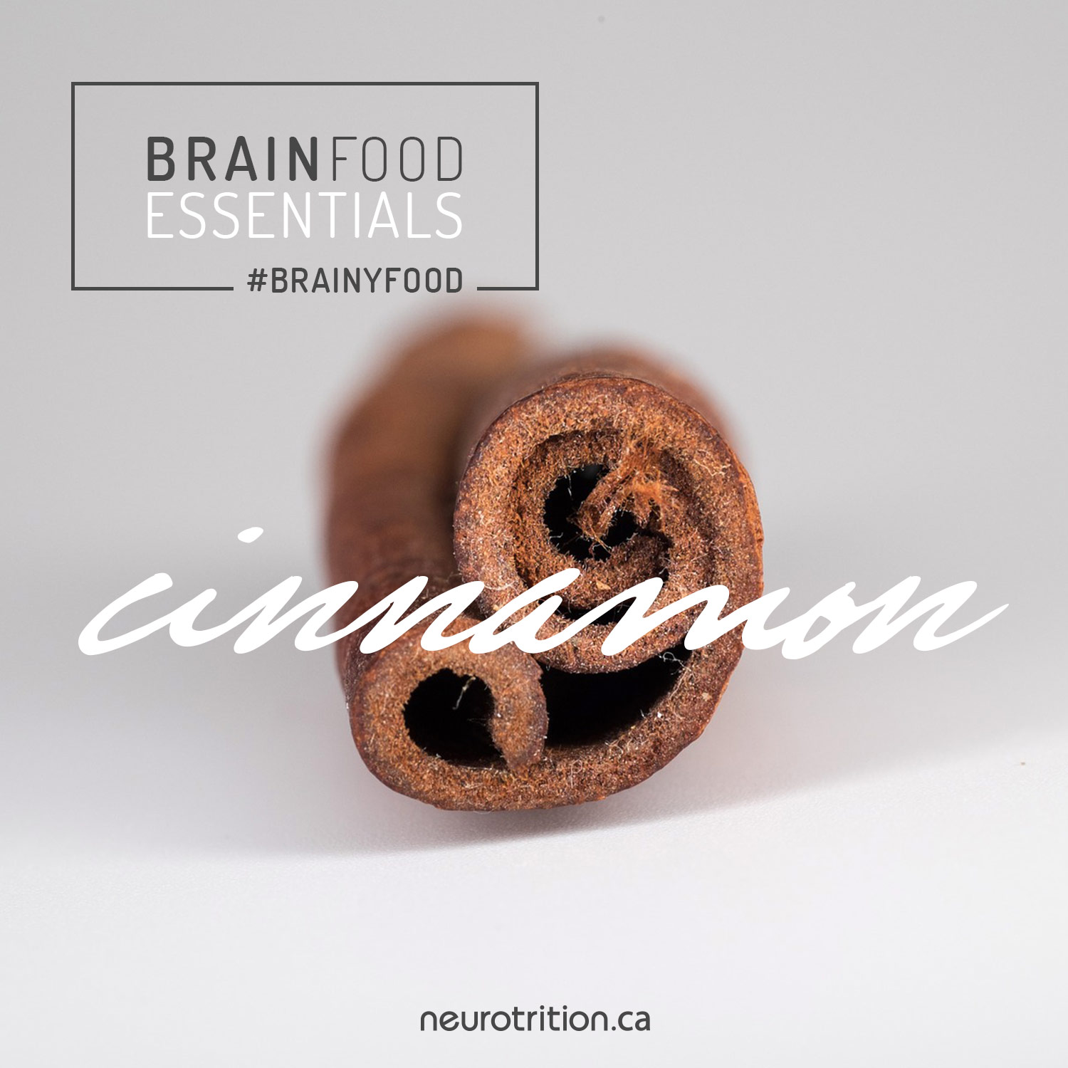 cinnamon as brain food