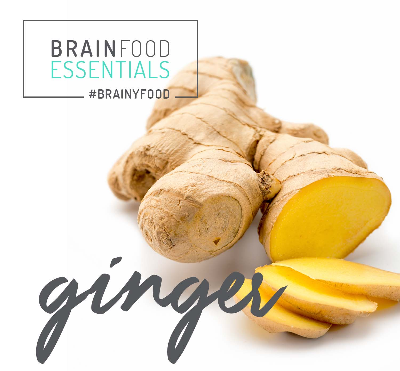Brain Food Essentials: Ginger