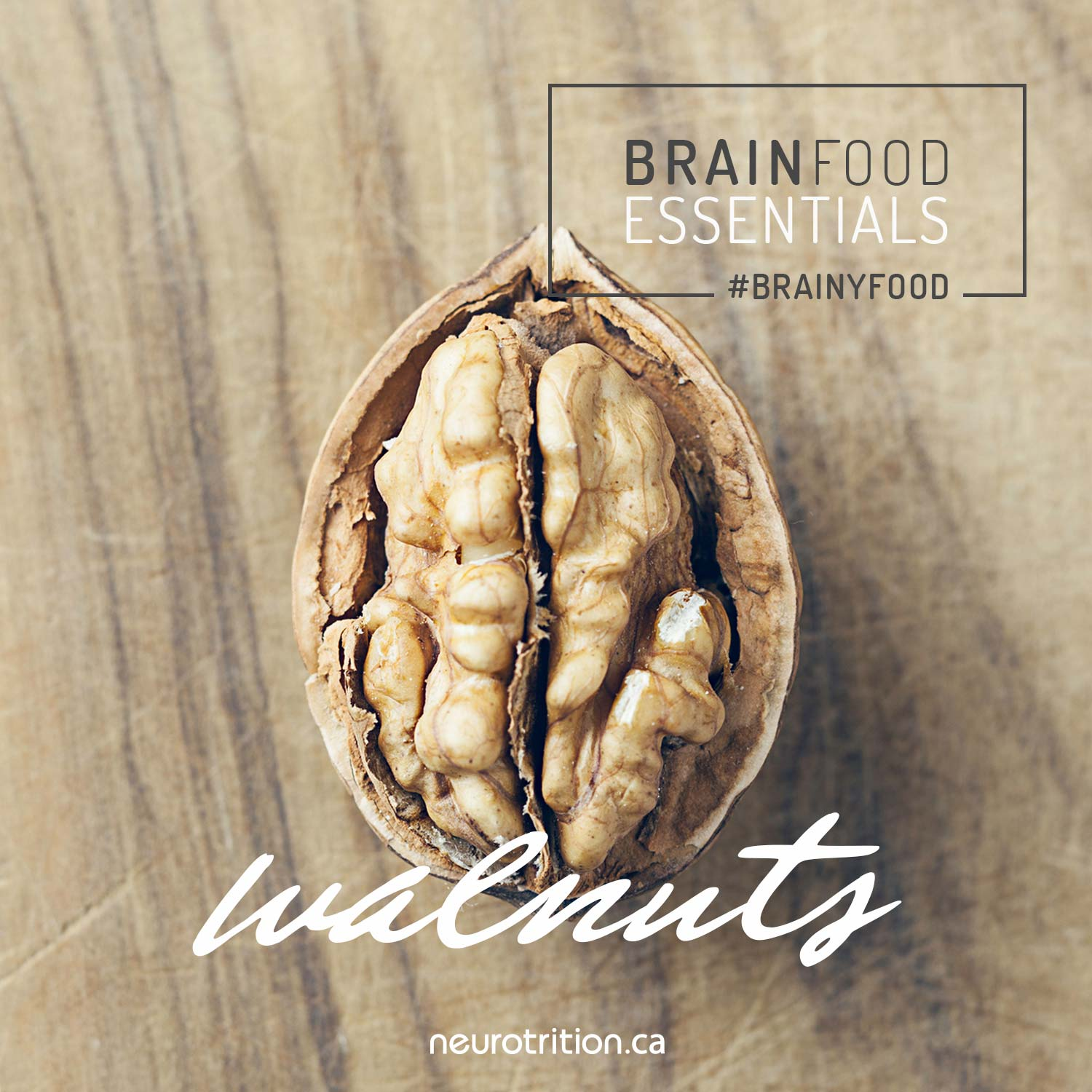 Brain Food Essentials : Walnuts