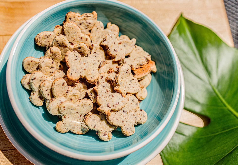 Healthy Homemade Goldfish Crackers
