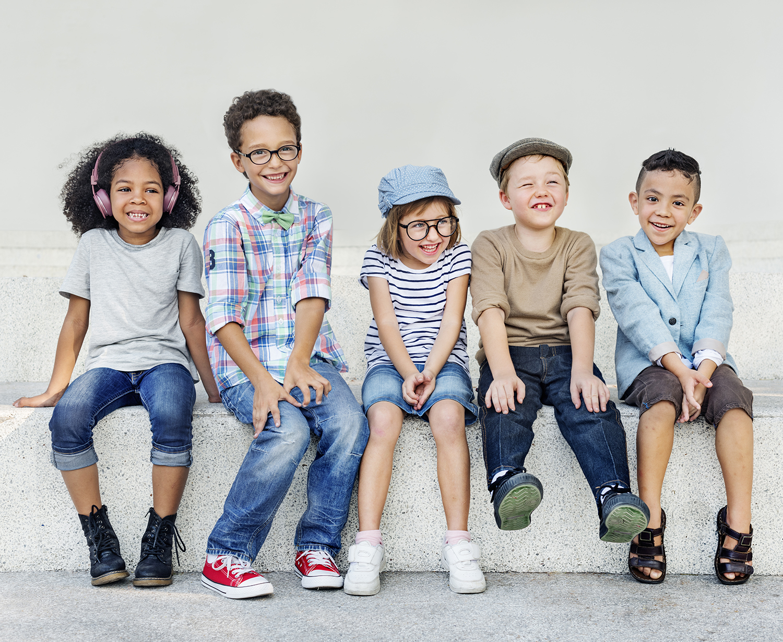 5 Cute Kids Smiling