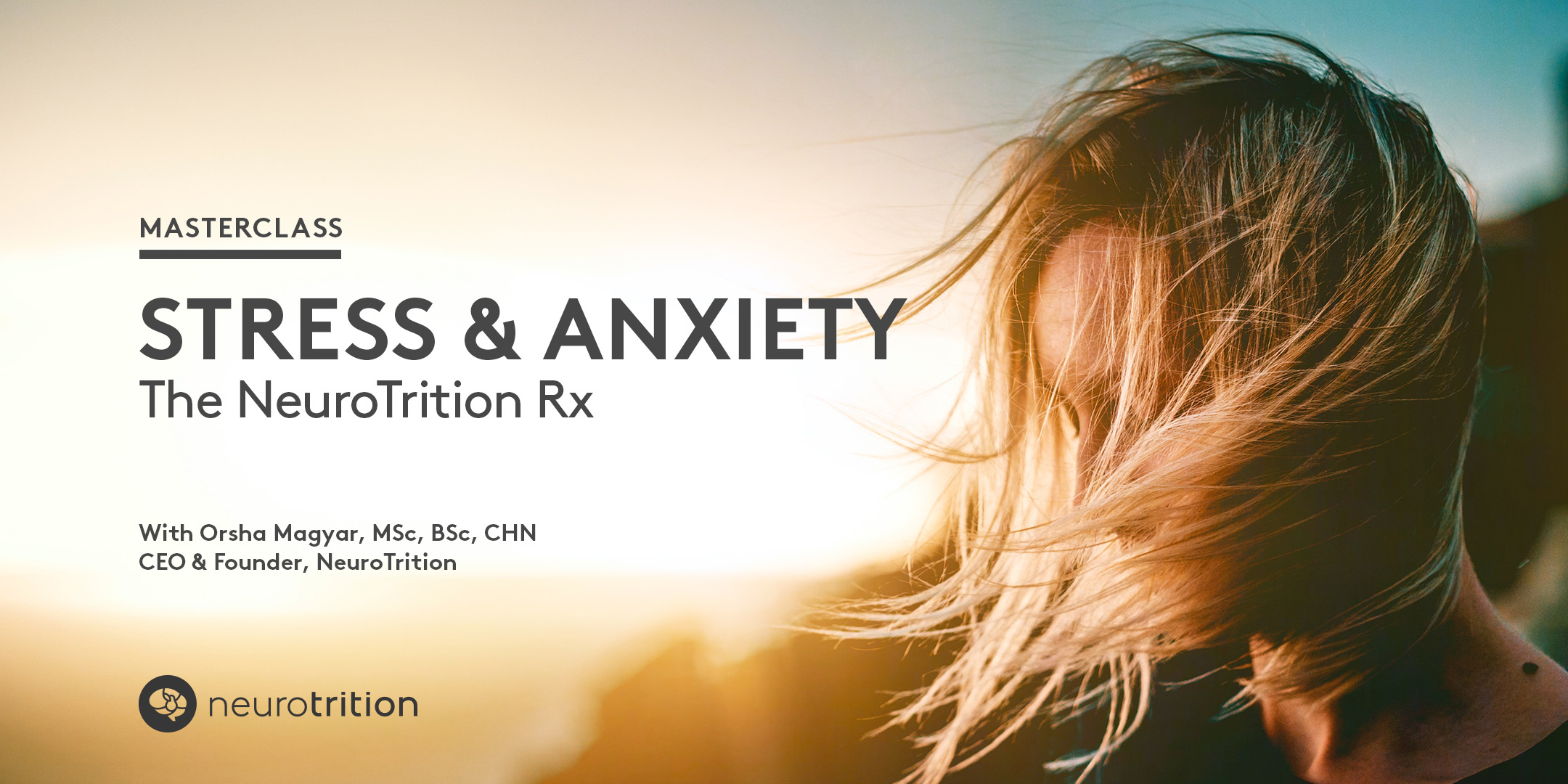 Stress & Anxiety: The NeuroTrition Rx Masterclass Photo