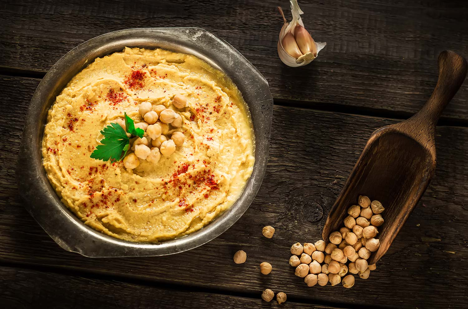 Hummus and Chickpeas
