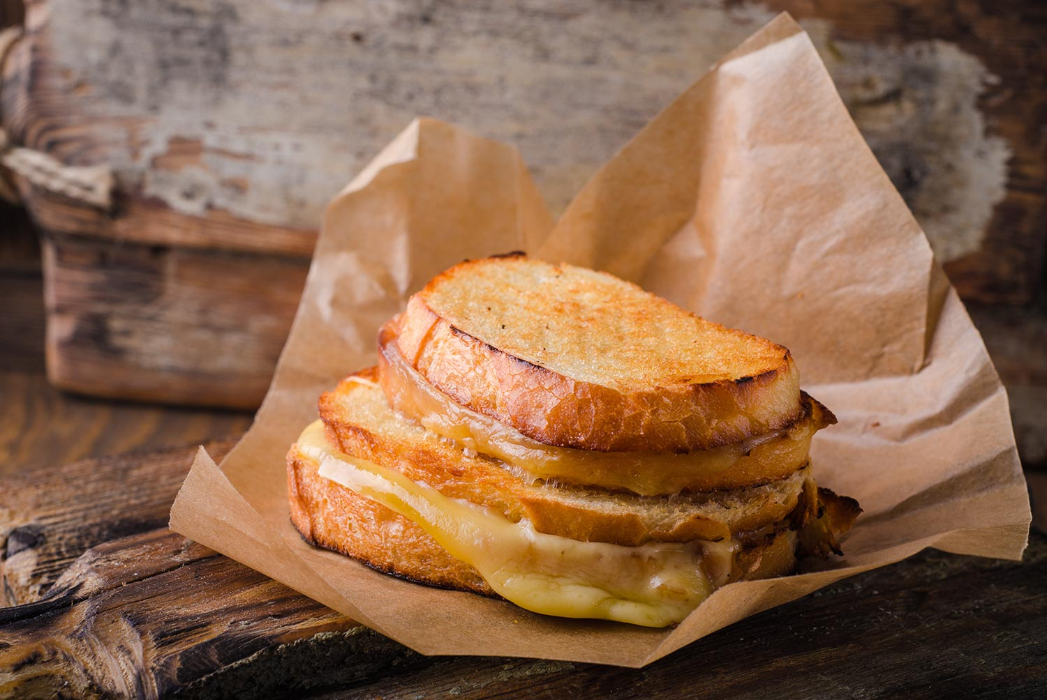 Sourdough Grilled Cheese