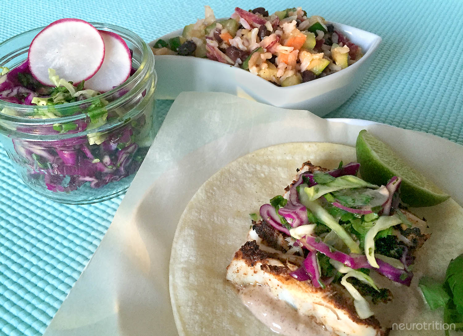 Blackened Mahi Mahi Tacos Neurotrition