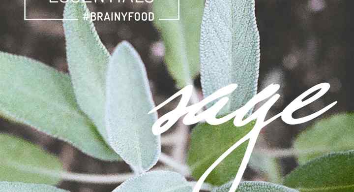 Brain Food Essentials: Sage