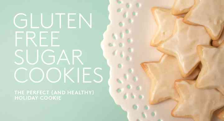 Star-Shaped Gluten Free Sugar Cookie with White Icing