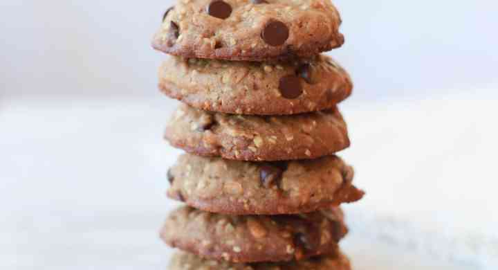 Cookie with chocolate chips, pretzels, graham crackers, oats