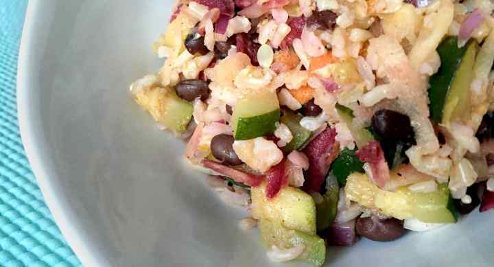 Cinco de Mayo Brown Rice Salad