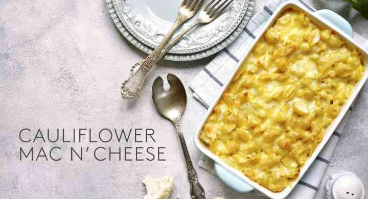 Cauliflower Mac N' Cheese