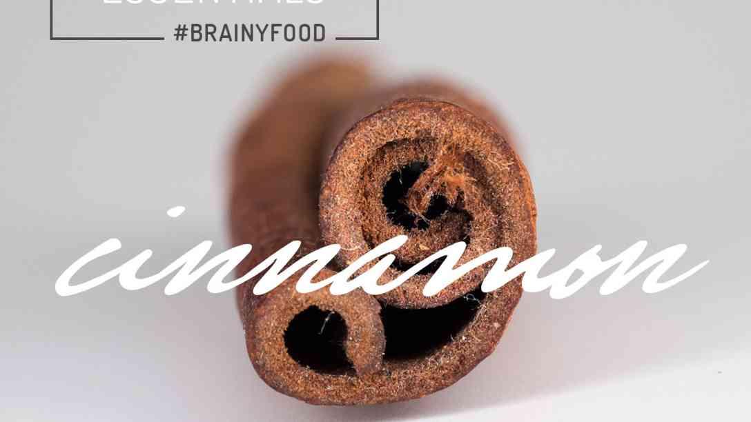 cinnamon as brain food