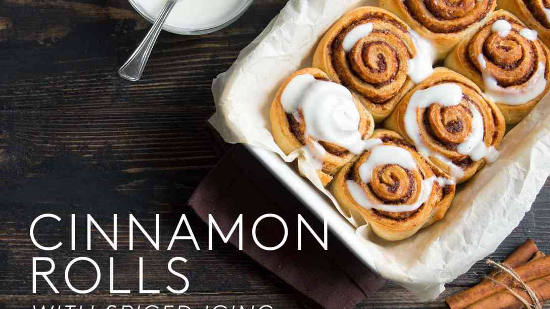 Cinnamon Rolls with Spiced Icing